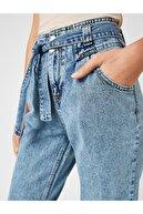 Koton Kadın Açik Indigo Jeans 1KAK47066MD