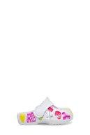 Akınalbella Unisex Çocuk Beyaz Terlik E049B021