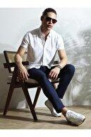 Kip Erkek Desenli Örme Uzun Kollu Gömlek