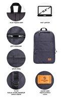 Aqua Di Polo Sırt Çantası (Laptop,notebook,okul, Spor ) Unisex Apba010902