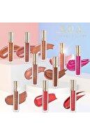 EDA LUXURY BEAUTY Nude Ten Rengi Pembe Dudak Parlatıcısı Lipstick Lüks Parlak Hacimli Ruj Diamond Shine Lip Gloss