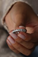 Valori Jewels 2.53 Karat Zirkon Taşlı, Gümüş Tamtur Yüzük
