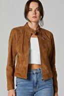 Derimod Kylie Kadın Süet Deri Ceket