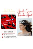 EDA LUXURY BEAUTY Şeftali Rengi Pembe Dudak Parlatıcısı Lipstick Parlak Hacimli Ruj Diamond Shine Lip Gloss