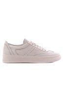 EPOCALE Gerçek Deri Beyaz Spor Ayakkabı