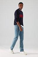 TRENDYOL MAN Mavi Erkek Regular Fit Jeans TMNAW22JE0059