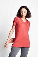 Lescon Kadın Tarçın Renk Kadın T-shirt 21s-2208-21b