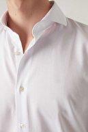 D'S Damat Slim Fit Beyaz Renk Erkek Gömlek 2HF02ORT3185_801