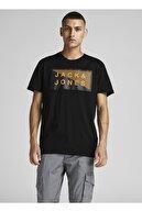 Jack & Jones Bisiklet Yaka T-shirt 12185035 Jcoshawn