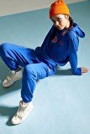 Defacto Kadın NBA Lisanslı Bağcıklı Relax Fit Jogger Eşofman Altı T5424AZ21SPBE116