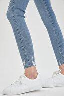 Defacto Vintage Skinny Yüksek Bel Jean Pantolon