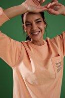 Defacto Relax Fit Cep Detaylı Sweat Tunik