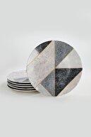 Keramika Servis Tabağı 26 cm 6 Adet