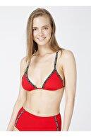 Calvin Klein Kırmızı Kadın Bikini Üst