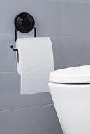 vipgross Mat Siyah Banyo Duvara Monte Tuvalet Kağıdı Tutacağı/tuvalet Kağıtlık Vs703