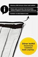 Mutlu Maske Konfor Serisi 3 Katlı Telli Siyah Gri Lacivert Renkli Pamuklu Kumaş Yıkanabilir Bez Maske 3'lü Set
