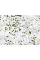 English Home Nature Baskılı King Size Pike Takımı 220x240 Cm Yeşil