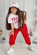 Riccotarz Kız Çocuk Kırmızı Eşofman Takım