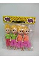oydaş oyuncak Parmak Barbie Et Bebek 4lü