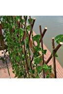 Nettenevime Yapay Çiçek Akordiyon Çit Yapay Sarmaşık lı Duvar Dekoru 210x90 cm