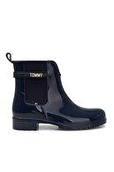 Tommy Hilfiger Kadın Lacivert Yağmur Çizmesi Fw0fw05202 Dw5