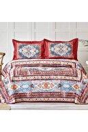 Karaca Home Rubi Kiremit Çift Kişilik Yatak Örtüsü Set