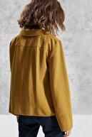 Yargıcı Kadın Altın Kruvaze Gömlek 0KKGM6054A