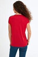Fullamoda Simli Courage Baskılı Tişört