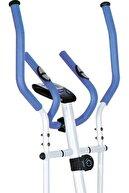Dynamic E16 Manyetik Eliptik Kondisyon Bisikleti -beyaz-mavi