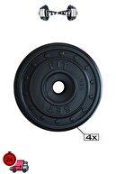 Fitset 78 Kg Z Barlı Halter Seti Ve Dambıl Seti Ağırlık Fitness Seti