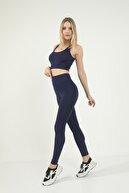 Grenj Fashion Lacivert Extra Yüksek Bel Toparlayıcı Tayt