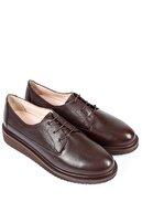 GÖNDERİ(R) Hakiki Deri Kahve Antik Kadın Günlük (Casual) Ayakkabı 24074
