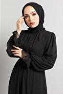 TUBA MUTİOĞLU Komple Astarlı Çıkarıp Takılabilen Seyyar Taş Kemerli Abiye Elbise