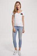 Lee Cooper Kadın Jamy Skinny Highrise Fit Jean Pantolon Talia Wash 192 LCF 121005
