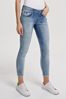 Lee Cooper Kadın Lima Push-Up Fit Jean Pantolon Jayce Stone 192 LCF 121007