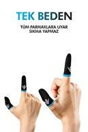 ZOİNCO E-spor Parmak Eldivenleri - Pubg Oyun Eldiveni Ter Geçirmez 1 Çift - 2 Parmaklık