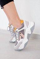 Tinka Bell Shoes Kadın Beyaz Multi Spor Ayakkabı 65136-2