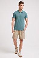 Lee Cooper Erkek Miless Polo Yaka T-Shirt Yeşil 202 LCM 242052