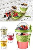 Helen's Home Take'n Go Kapaklı Kaşıklı Hazırla ve Çık Meyveli Yoğurt Kabı