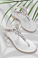 Bambi Lame Kadın Sandalet K05544006536