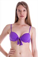 AYYILDIZ Kadın Mor Push-Up Bikini Üstü 63545/D7134