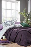 Yataş Nadia Çift Kişilik Yatak Örtüsü - Mor