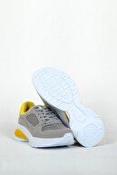 PEOPLE SHOES B&s 561 Gri Sarı Kadın Spor Ayakkabı
