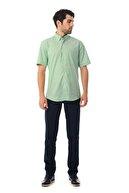 Hatemoğlu Regular Yeşil  Gömlek 18D190000387