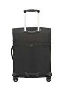 Samsonite Siyah Unisex Duopack - 4 Tekerlekli Körüklü Tek Bölmeli Kabin Boy Valiz 55Cm 54021