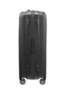 Samsonite Siyah Unisex Hı-Fı- 4 Tekerlekli Körüklü Orta Boy Valiz 68Cm 72549