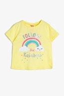 Koton Sarı Kız Bebek T-Shirt