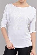 bilcee Kadın Antrenman T-Shirt  ES-3504