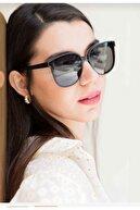 ONNObutik Kadın Sense Black Güneş Gözlüğü