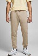 Jack & Jones Erkek Bej Eşofman Gordon Soft Sweatpants - 12195726